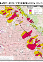 Berkeley Hills Landslide Map